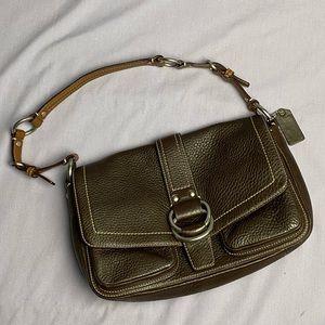 Coach Brown Leather Shoulder Bag